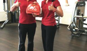 Physio Zentrum Sundern beschafft Defibrillator