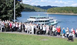 Johanniter-Senioren erlebten herrlichen Tag auf der Bigge