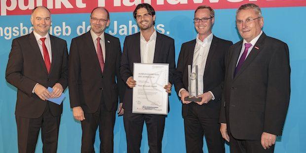 Siegener Unternehmen ist Ausbildungsbetrieb des Jahres 2016