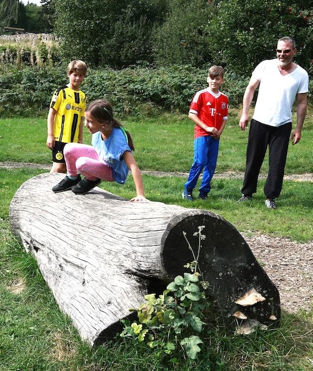 """Photo of """"Über Stock und Stein"""" – Parkour zum Kennenlernen"""