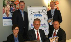 Volksbank Bigge-Lenne präsentiert neue Crowdfunding-Plattform