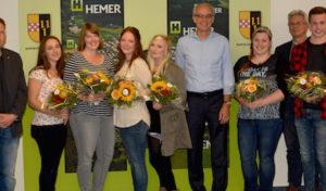 Sechs neue Auszubildende bei der Stadt Hemer begrüßt