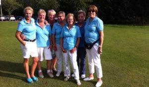 AK50-Damen des GC Werl feiern Aufstieg in 4. Liga