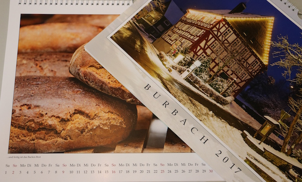 Photo of Neuer Kalender Burbach 2017 ist da