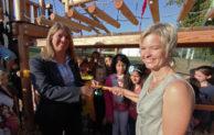 Grundschule Wilgersdorf freut sich über neues Klettergerüst
