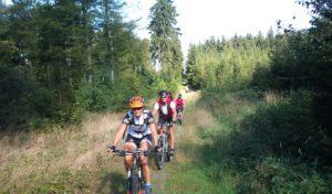 Letzte geführte Mountainbike-Tour mit Klaus Jung in Hilchenbach