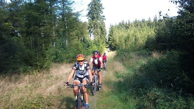 Photo of Letzte geführte Mountainbike-Tour mit Klaus Jung in Hilchenbach
