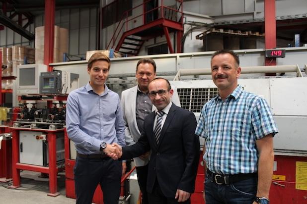 Photo of Bachelorarbeit beim Altenaer Unternehmen FRITZ FINKERNAGEL
