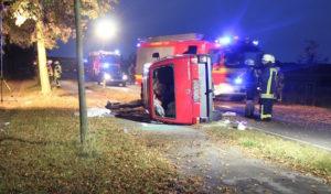 Lippstadt-Hellinghausen: Schwerer Verkehrsunfall