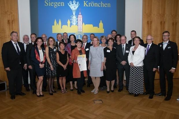 """Photo of Neuer Lions-Club """"Siegen-Krönchen"""". Der erste gemischte Lions-Club im Stadtgebiet Siegen."""