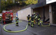 Wohnungsbrand in Lennestadt – Feuer in einem Vorratsraum