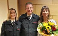 Kierspe: Kommandowechsel im Löschzug 2 . Nadine Dörseln wird Zugführerin