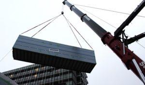 Präzisionsarbeit mit Giganten: Neue OP-Module am Klinikum Lüdenscheid eingetroffen
