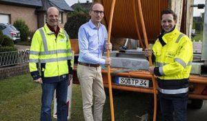 Mit High-Speed ins Internet: Stadtwerke Werl schaffen Glasfasernetz in Westhilbeck