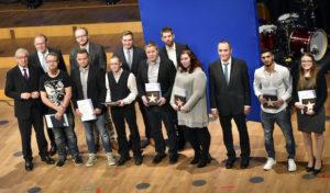 Siegen – Zehn Landesbeste in Düsseldorf geehrt