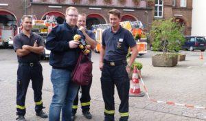 Städtetour der Arnsberger Jugendfeuerwehr führte nach Düsseldorf