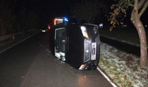 Erwitte-Bad Westernkotten: Kontrolle über Fahrzeug verloren