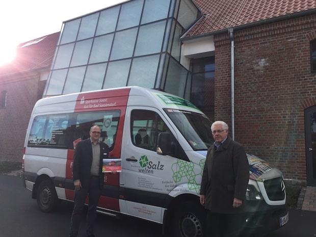 Photo of Westfälische Salzwelten unterstützen Bürgerbus: Bad Sassendorfer Bürgerbus hält auch am Hof Haulle