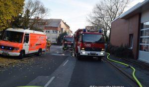 Hemer: Vier Verletzte bei Wohnungsbrand