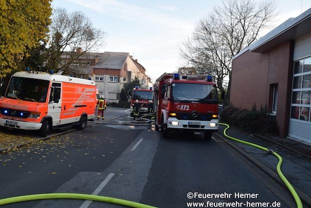 Photo of Hemer: Vier Verletzte bei Wohnungsbrand
