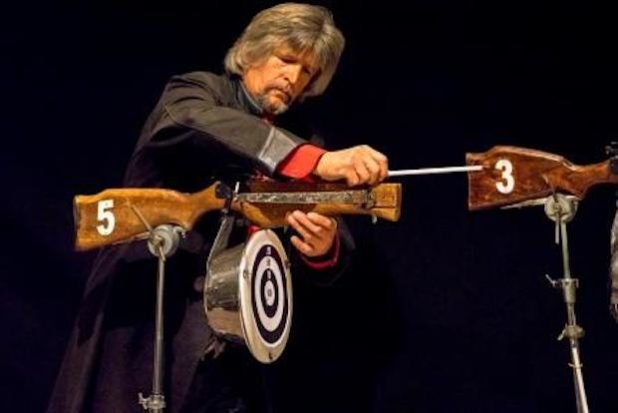 Peter Moretti begeistert mit seinem legendären Super-Tell-Schuss. Bildquelle: Galieo-Park