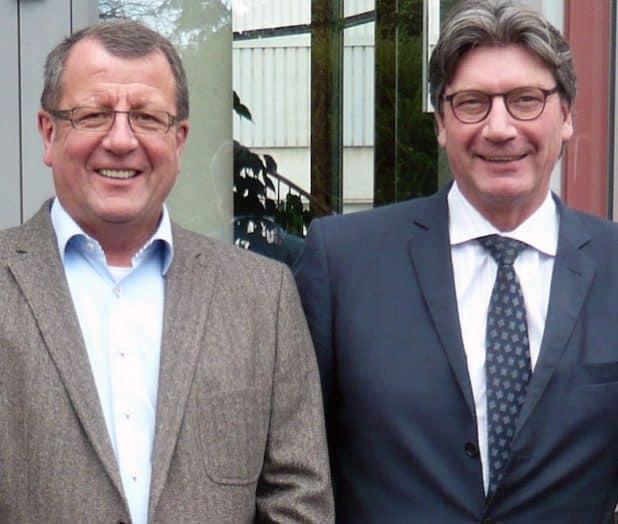 Neue Doppelspitze: Dr. Horst Dieter Schulz (rechts) und Roland Stark. Bild: @Fischer Profil