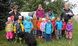 Schulkinder des DRK-Familienzentrums Winterberg machten Ausflug zum Bauernhof