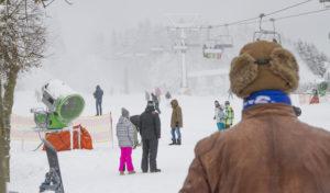 Ein Lift drehte sich am Wochenende im Skiliftkarussell Winterberg