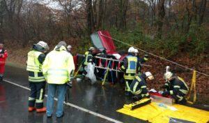 Netphen: 25 jährige verursacht Vollsperrung in Salchendorf