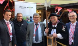 Die Hansestadt Attendorn präsentierte sich auf dem dreitägigen Westfälischen Hansetag