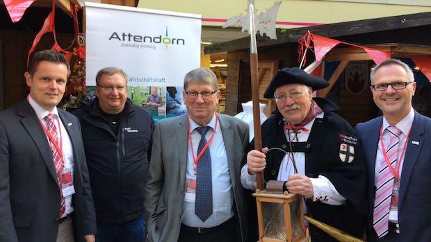 Photo of Die Hansestadt Attendorn präsentierte sich auf dem dreitägigen Westfälischen Hansetag