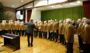 Adventskonzert des MC Liederkranz Oberveischede am 10. Dezember
