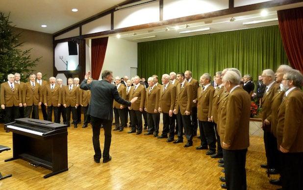 Photo of Adventskonzert des MC Liederkranz Oberveischede am 10. Dezember