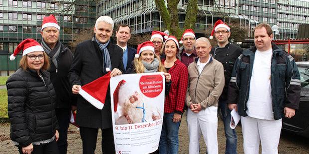 Weihnachtsdorf am Klinikum Lüdenscheid