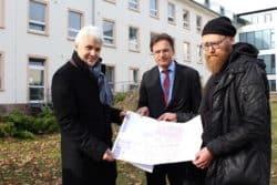 <b>Lüdenscheid: Erster Spatenstich zum Um- und Anbau der Psychiatrischen Intensivstation</b>