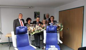Freude auf der geriatrischen Station der Stadtklinik Werdohl