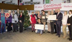 """Iserlohn – """"Continue"""" spendete Erlös des 20.  Weihnachtsbasars"""
