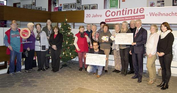 """Photo of Iserlohn – """"Continue"""" spendete Erlös des 20.  Weihnachtsbasars"""