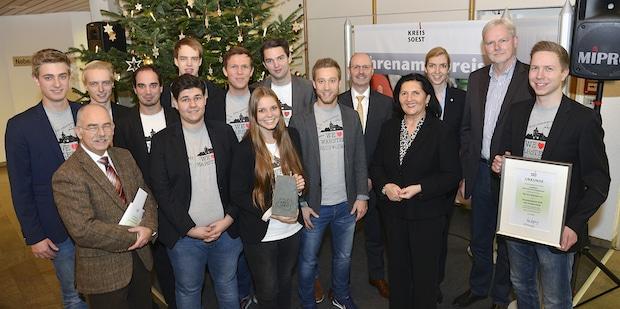 Photo of Kreis Soest: Junge Ehrenamtspreisträger ausgezeichnet
