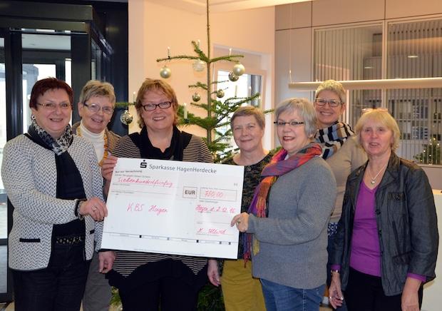 Photo of Hagen: Förderverein unterstützt Krebsberatungsstelle mit 750 Euro Spende