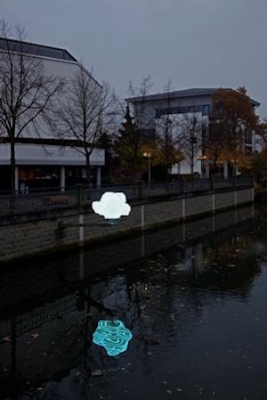 Photo of Durch die Nacht … entlang der Lippstädter Lichtpromenade