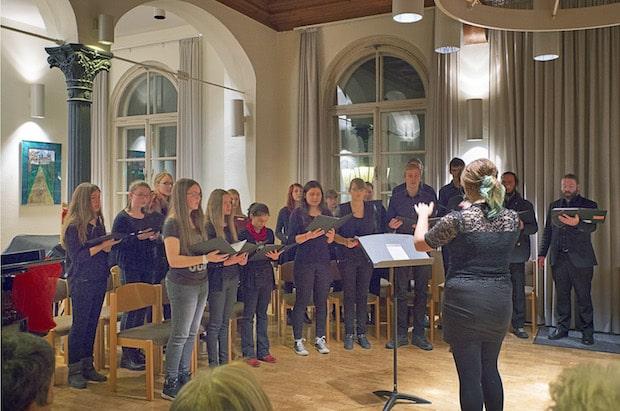 Photo of Viertes Weihnachtskonzert des Jugendchores der städtischen Musikschule