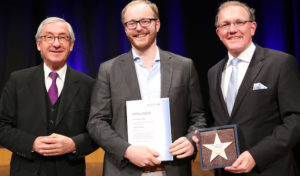 Ausgezeichnet! Krombacher Azubi Marc-Philipp Hütwohl ist Landesbester Jung-Brauer