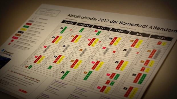 Photo of Attendorn – Der Abfallkalender 2017 ist veröffentlicht: In gedruckter Form, zum Herunterladen oder Online