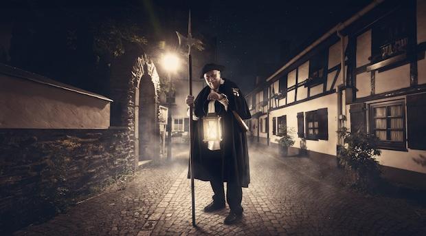 """Photo of Mit dem Nachtwächter durch die  """"rauhen Attendorner Nächte"""""""