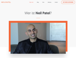 Online-Marketing Tipps vom Marketingexperten Neil Patel.
