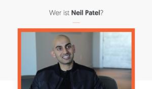 Online-Marketing: Neil Patel gibt sehr gute Tipps