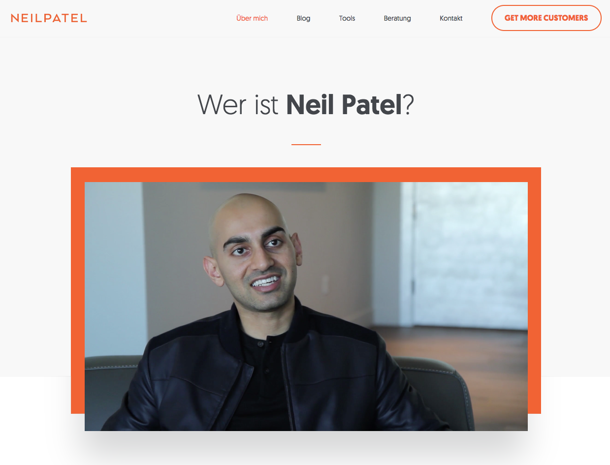 Online-Marketing Tipps vom Marketingexperten Neil Patel.