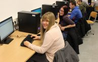 Grundbildung am Computer von Anfang an – Neue Computerräume an der Graf-Bernhard-Realschule