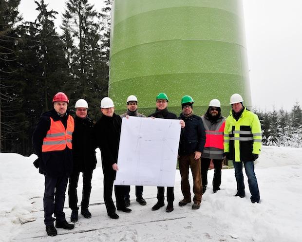Photo of Mark-E und Stadtwerke Iserlohn: Start des Hochbaus für Windkraftanlage in Lüdenscheid